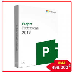 Key Microsoft Project Professional 2019 - Chuẩn Hãng