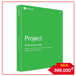 Key Microsoft Project Professional 2016 - Chuẩn Hãng