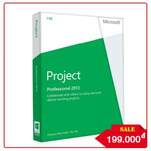 Key Microsoft Project Professional 2013 - Chuẩn Hãng