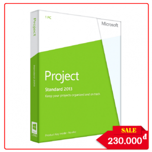 Key Microsoft Project Standard 2010 - Chuẩn Hãng