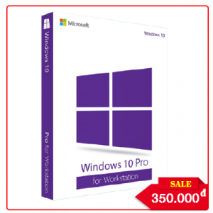Key Windows 10 Pro for Workstation - Chuẩn Hãng
