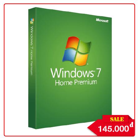 Key Windows 7 Premium - Chuẩn Hãng