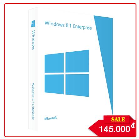 Key Windows 8.1 Enterprise - Chuẩn Hãng