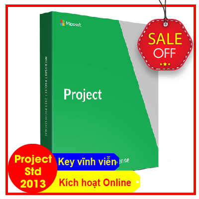 Key Microsoft Project Standard 2013 - Chuẩn Hãng